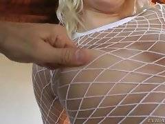 In this porn video you can see horny Anikka Albrite