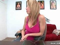 In this porn video you can see amazing slut