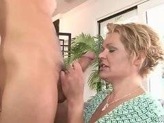 In this porn video you can see hot slut and her fucker
