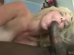 In this porn video you can see lovely cock sucker