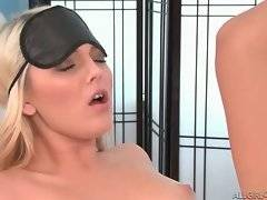 In this porn video you can see slutty and hot Kiera Winters