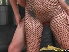 In this porn video you can see alluring Katalina