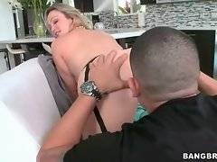 In this porn video you can see sexy Abbey Brooks