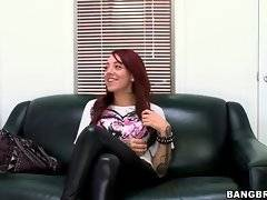 In this porn video you can see winsome Mila Treasure