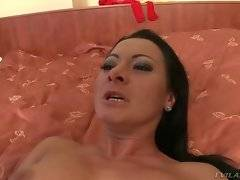In this porn video you can see naughty whores