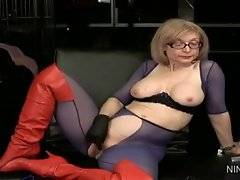 In this porn video you can see agreeable Nina Hartley