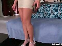In this porn video you can see flirty and hot Holly
