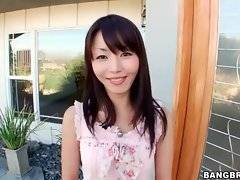 This sweet asian chick eagers for new experience.