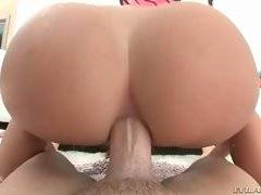 This cock loving pretty slutie is addicted to anal.