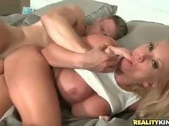 Charity Mcclain does her best to pleasure hungry Levi Cash.