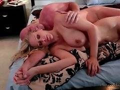 Sexy blonde lady gets furiously drilled by her horny husband.