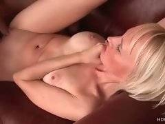 Blonde milf loves to feel stiff dick moving in and out her hole.