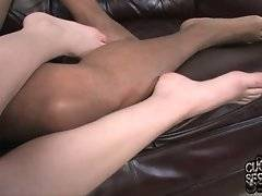 Tweety Valentine gets her first orgasm with black dude and none with her white friend with little cock.