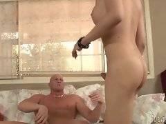Christian passionately fucks yummy tgirl Venus Lux.