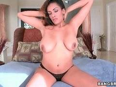 Layla Terrace massages, kneads and licks her awesome melons.
