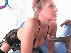 Julia Ann gives Tone Capone amazing rimming and cock sucking.
