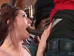 White mature sweetie drinks too much beer and is makes her horny.