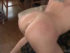 Black buddies deeply penetrate nasty white mommy.