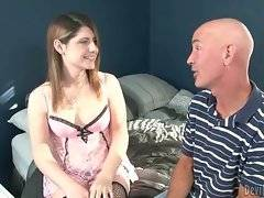 Horny Smith comes to pretty transsexual prostitute Amy Daly.