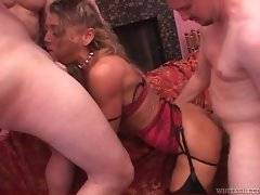 Eager Chelsea loves to feel thick dicks inside her wet holes.
