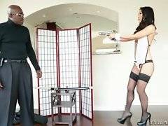 Deadly hot Asa Akira catches agent Steele in her territory.