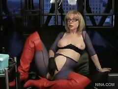 Nina Hartley answers her fans in life on-line mode.
