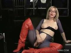 Nina Hartley is ready to tell anything about herself.