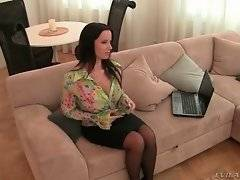 Mature Czech beauty Cindy Dollar is in mood for good fucking.