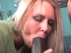 Ruth Blackwell was sure that Jaylynn would love to tastes big black dick.