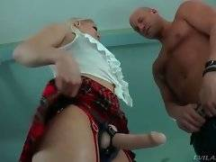 Gorgeous booty babe Ash Hollywood gets ready to fuck horny Christian.