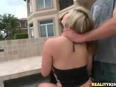 Sweet slutie demonstrates her amazing big natural tits.