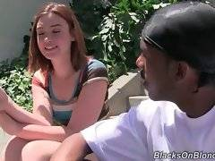 Pretty white girl Jodi Taylor needs some help with her guys problems.