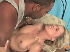 Nasty milf makes her young son watch her fucking black dude to give him a lesson.