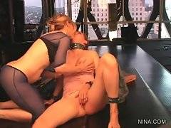 Nasty lady Nica Noelle doesn`t mind of some submission.