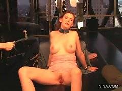 Nica Noelle likes to have her butt cheeks and tits spanked.