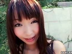 Sweet Asian babe Marica Hase is going to enjoy big black cock.