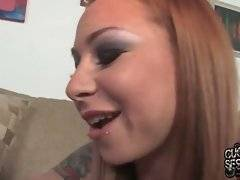 Scarlett tempts her cuckold to make his cock hurt with chastity device while getting hard.