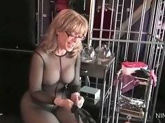 Nina Hartley is going to have a good play with Deauxma`s craving pussy.