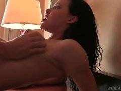 Katie likes to feel her pussy stretched with Manuel`s large dong.