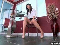 Hot milf India Summer is horny and she`s going to seduce her step daughter`s friend.