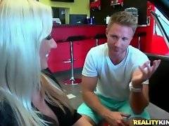 Levi is ready to sell Zoey Portland the car she wants but on condition she`d show him her panties.