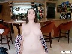 Tessa Lane`s great natural tits are bouncing while she rides dick.