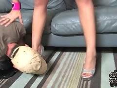 Sexy brunette Chelsie Rae poses and tells how she likes big black dicks.