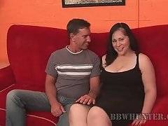 Pretty BBW Teedra seems to be don`t mind to have some after work fun.