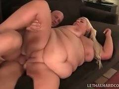 This young fattie is fond of getting her pussy fucked hard.
