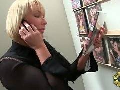 Mellanie Monroe tells her husband she`s just shopping but she is in adult book store instead.