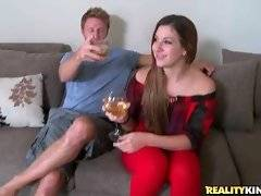 Experienced seducer Levi Cash does his best to charm sexy milf Raychel.