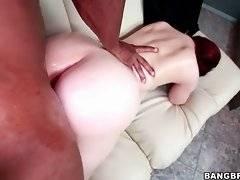 Turned on black dude works his huge boner inside wet pink pussy.