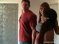 Awesome mature porn star wants her daughter to try and enjoy big cock.