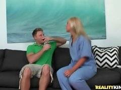 Hot looking blond milf is ready to cheat on her husband with Levi Cash.